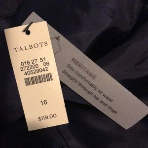 Talbots Pants New With Tags Gorgeous!!🎉🎊🥰